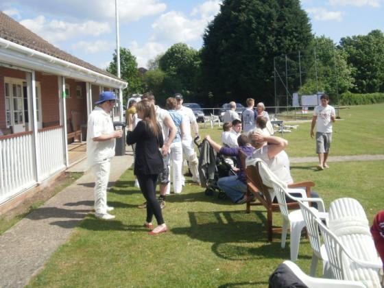 LeeStock 20 twenty cricket at Long Melford cricket ground