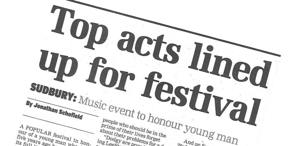 Top acts named for festival - East Anglian Daily Times