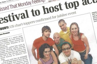 Festival to host top acts - East Anglian Daily Times