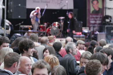 The crowd at LeeStock 2011