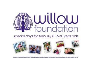 Fundraisng for the Willow Foundation