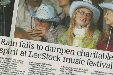 LeeStock in the East Anglian Daily Times