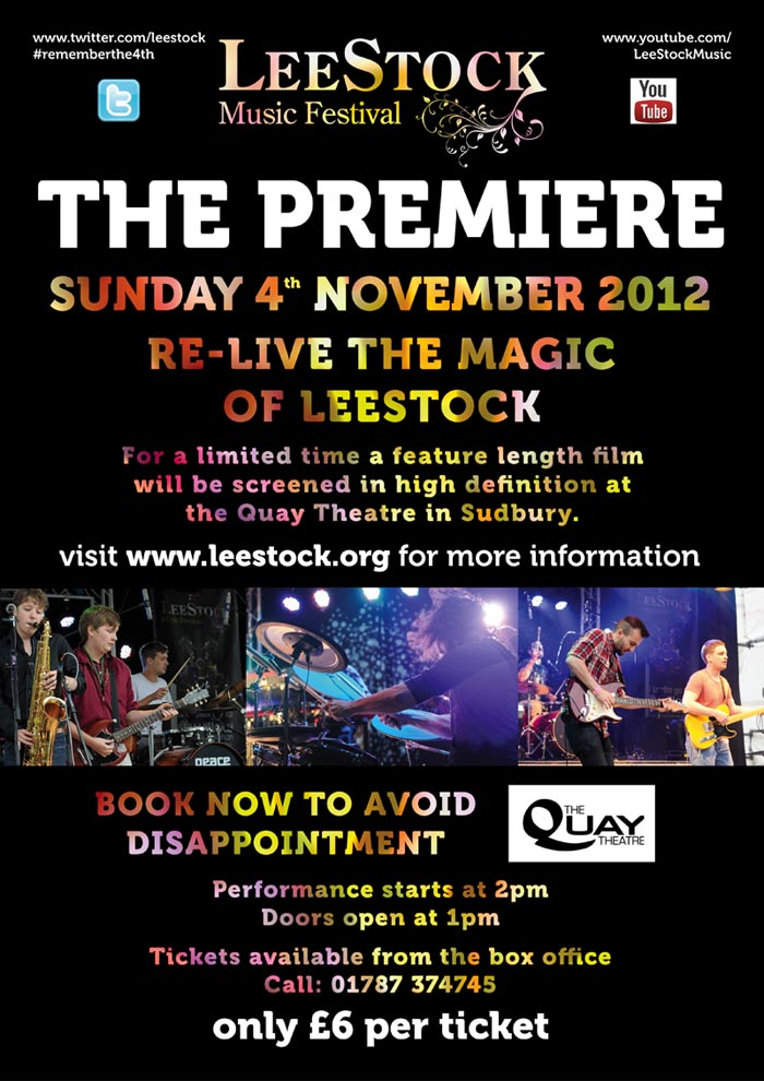 LeeStock The Premiere - Re-live the magic of LeeStock 2012