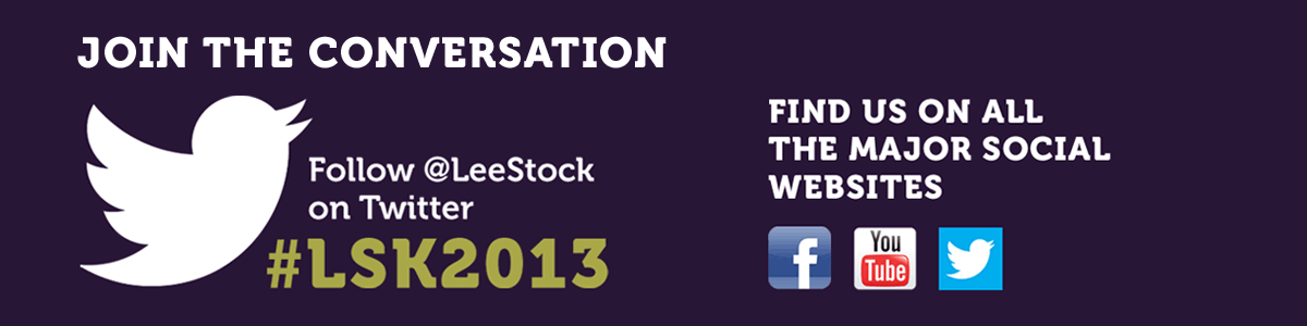 Join the conversation about LeeStock 2013