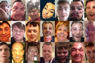 LeeStock Sellotape Selfies