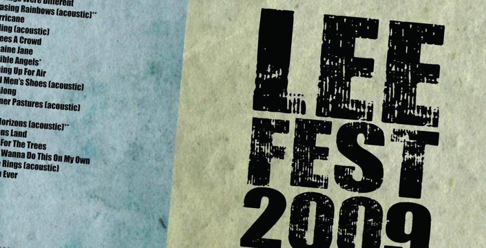 The LeeFest 2009 Album