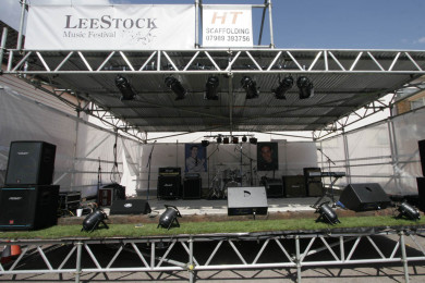 Setting up LeeStock 2010