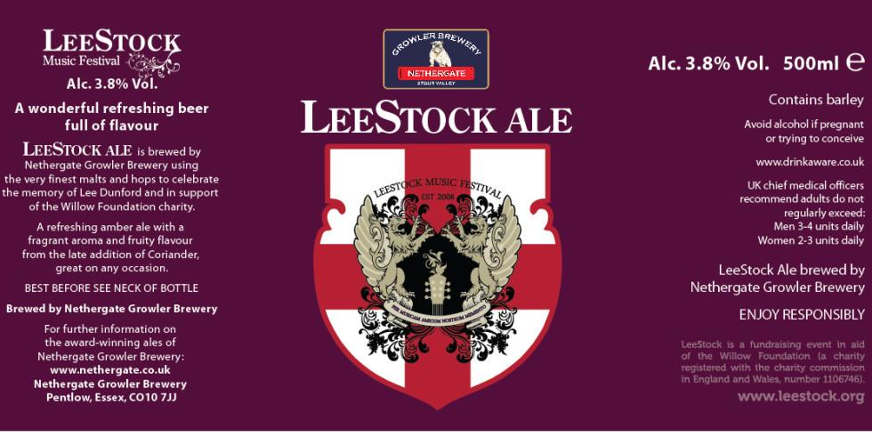 LeeStock - the Beer!