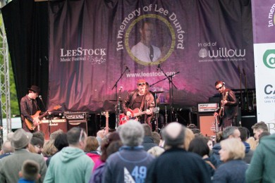Dodgy welcomed back to LeeStock in 2015