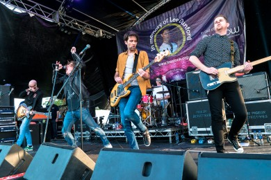 The Pigeon Detectives at LeeStock 2018