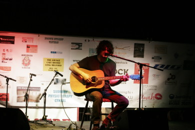 Chris Helme at LeeStock in August 2012