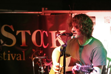 Chris Helme at LeeStock Music Festival