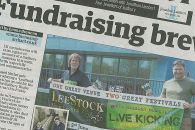 LeeStock Beer in the Sudbury Mercury 03-05-12