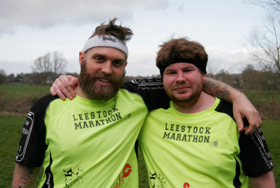 Run For LeeStock - Marathon Challenge 2012