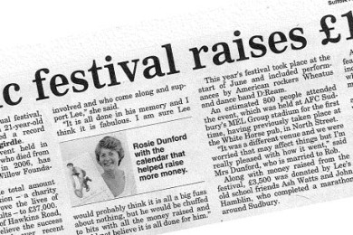 Music Festival Raises £11,000 For Charity