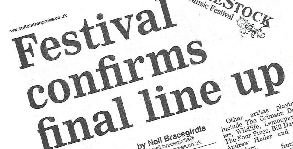 Full line-up announced for LeeStock 2011 - Suffolk Free Press