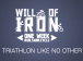 Will of Iron Triathlon