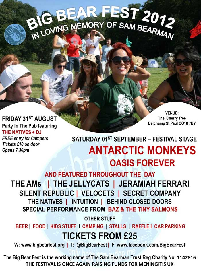 Big Bear Fest 2012 poster