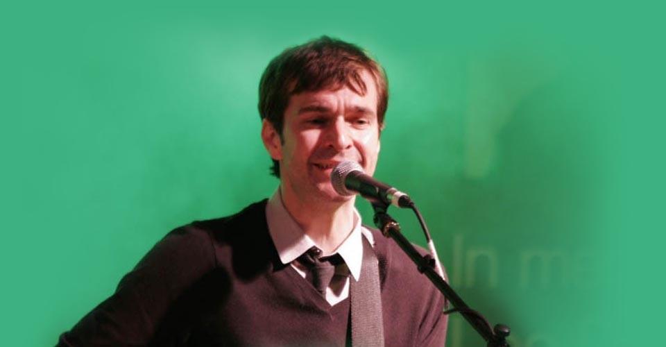 Mark Morriss performing 'Old Man' at LeeStock 2011