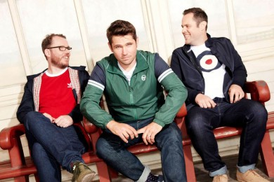 Scouting For Girls confirmed as our main headline act!