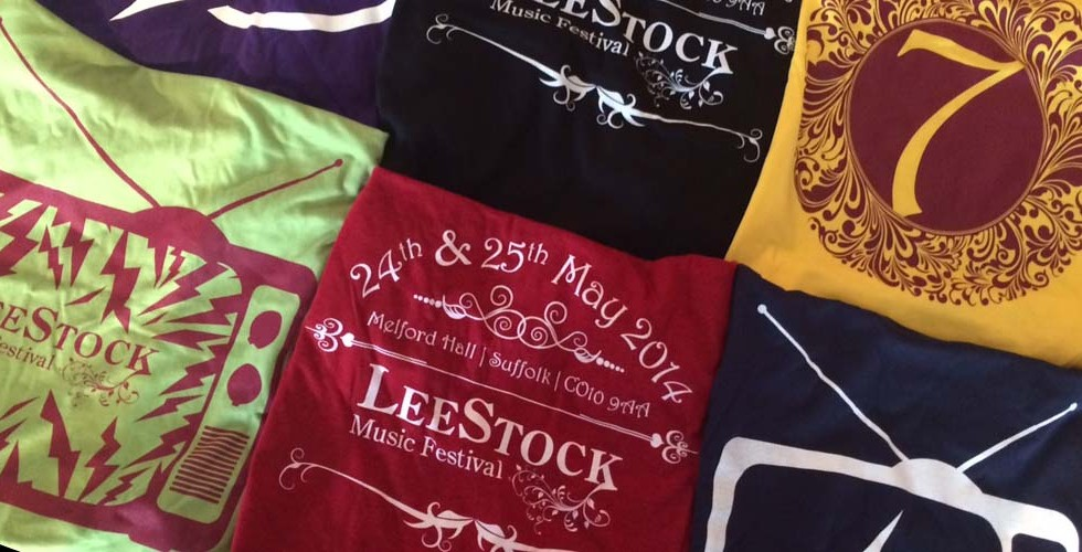 LeeStock 2014 T-Shirts On Sale Now!