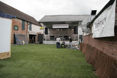 Setting up LeeStock 2011