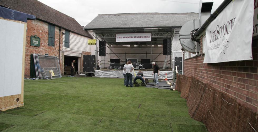 Setting up LeeStock 2011