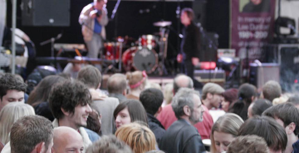 The LeeStock Crowd