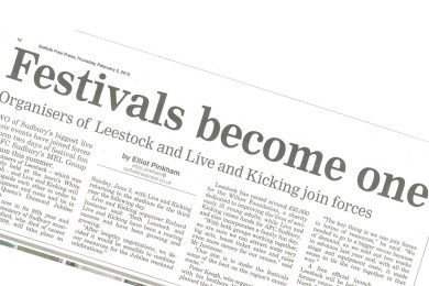 Local festivals become one - Suffolk Free Press